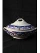 Zuppiera tonda in porcellana antica inglese datata fine 1800