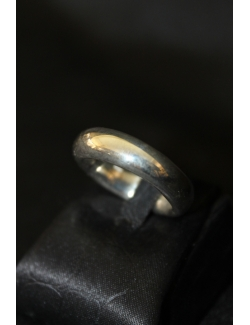 Anello fedone in argento