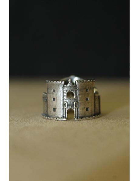 Anello Napoli in argento