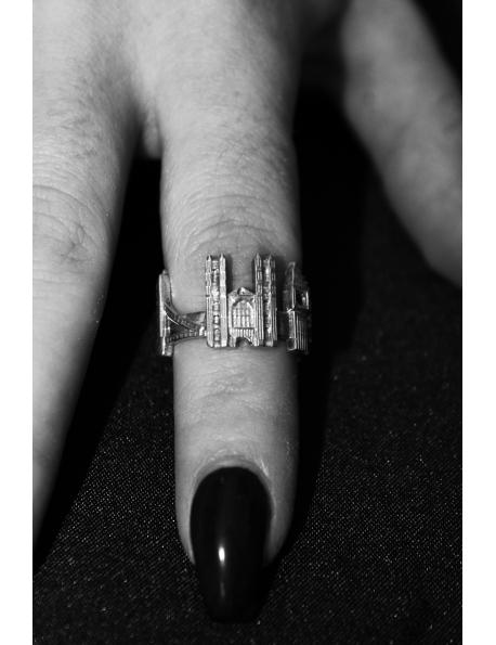 Anello città Londra in argento