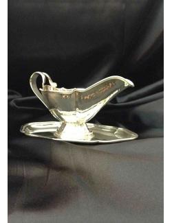Salsiera barocca in argento
