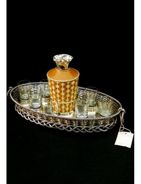 Set da liquore antico inglese
