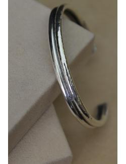 Bracciale a doppio giro in argento