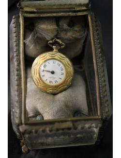 scrigno porta orologio dei primi del 900 francese