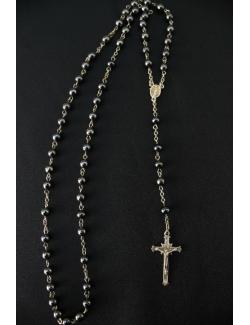 rosario da indosso con crocifisso finale in argento